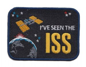 I've Seen The ISS Embroidered Patch